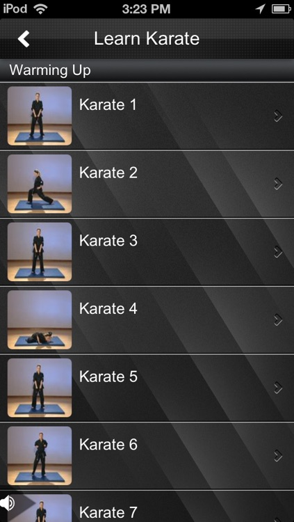 Karate Fitness screenshot-1