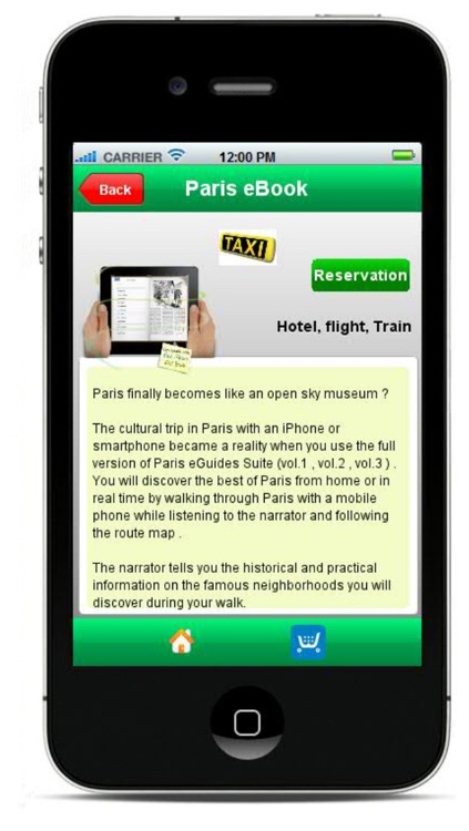 Paris Guide - MP3 and video tours, Sorbonne, Luxembourg Garden..., metro screenshot-3