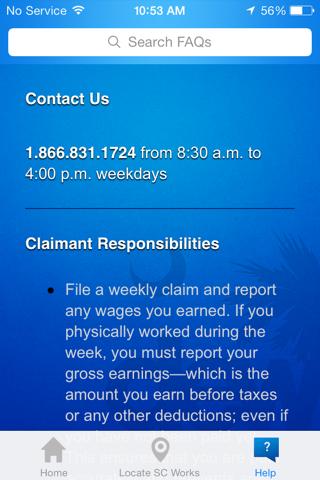 SC Weekly iClaim screenshot 4
