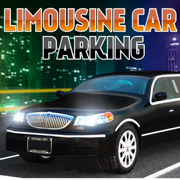 Limousine City Parking 3D