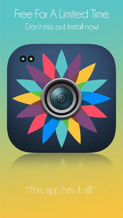 Picture Editor- for Facebook, Twitter, Flickr, Instagram, FB, Ameba, FiveTalk, Kakao, Viber, WeChat, WhatsApp & Photoshop screenshot-4