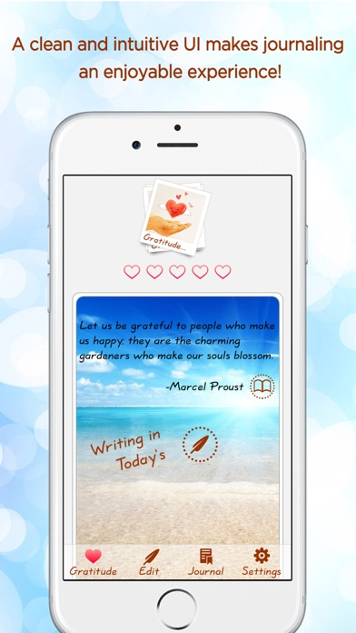Gratitude Journal - The Life-changing App Скриншоты3