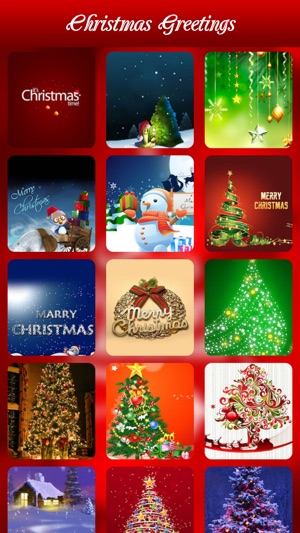 Christmas greetings best greeting card maker on the app store screenshots m4hsunfo