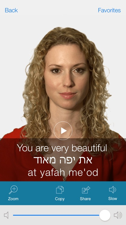 Hebrew Pretati - Translate, Learn and Speak Hebrew with Video Phrasebook screenshot-4