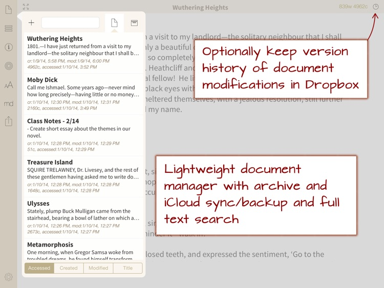 Phraseology - Text Editor with Writing Tools screenshot-4