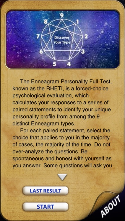 Enneagram Personality Full Test