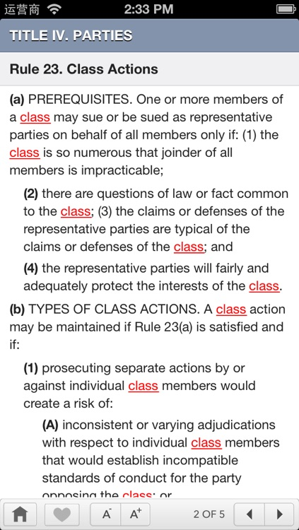 FRCP: Federal Rules Of Civil Procedure screenshot-4