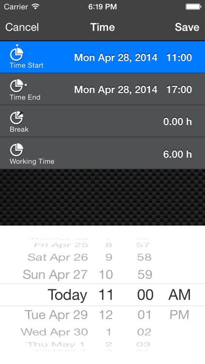 Work Log Ultimate Pro - Plan, Log, Analyze - time tracking made easy screenshot-4