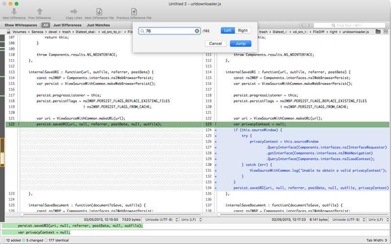 VisualDiffer Screenshots