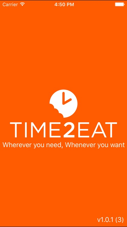 Time2eat - Takeaway food delivery