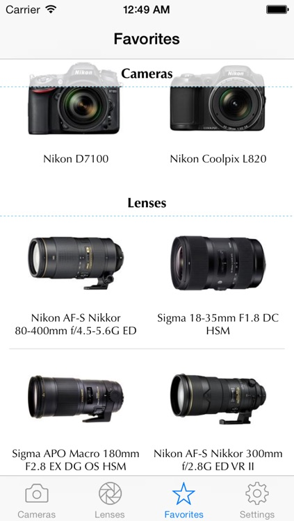 Nikon Camera Bible - The Ultimate DSLR & Lens Guide: specifications, reviews and more screenshot-4