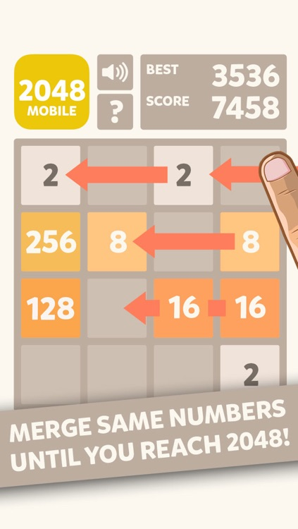 2048 Mobile Logic Game - Join the numbers screenshot-0
