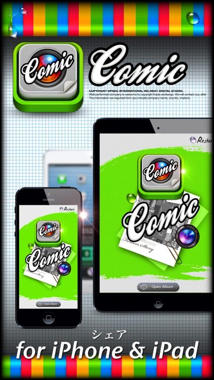 Comic Film Story 360 Plus - Best Photo Editor and Stylish Camera Filters Effects