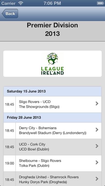 League of Ireland. screenshot-4