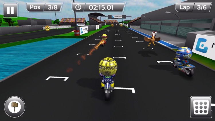 MiniBikers: The game of mini racing motorbikes