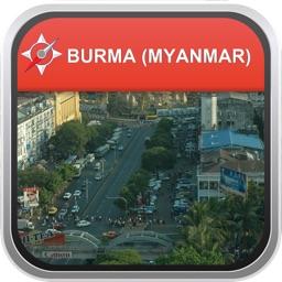 Offline Map Burma (Myanmar): City Navigator Maps