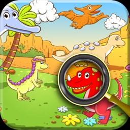 A Dinosaur Can you find it Puzzle Game for Kids Free