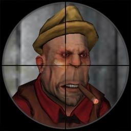 3D sniper game - mobster war