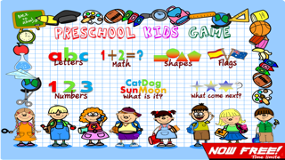 Preschool Kids Game : 7 Educational Learning English is Fun (Preschool math, abc, number, letter, Word, spelling, First Words, Sight Words) screenshot one