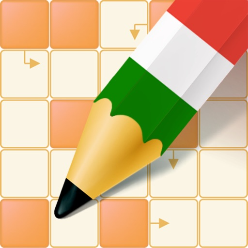 Learn Italian with Crossword Puzzles icon