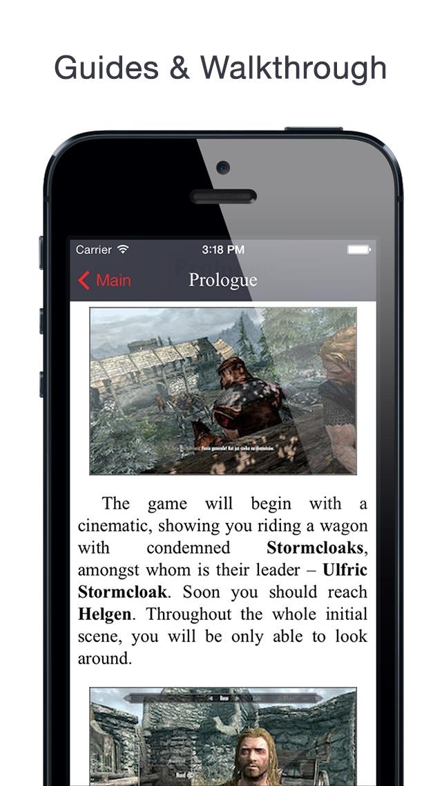 Screenshot for Database for Skyrim™ in United States App Store