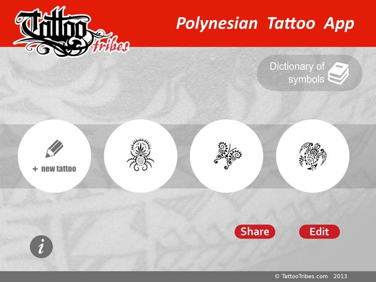 Polynesian Tattoo App for iPad