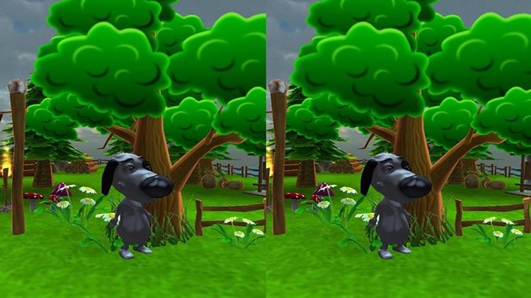 VR Talking Cat & Dog Park: Real 3D Game screenshot-3