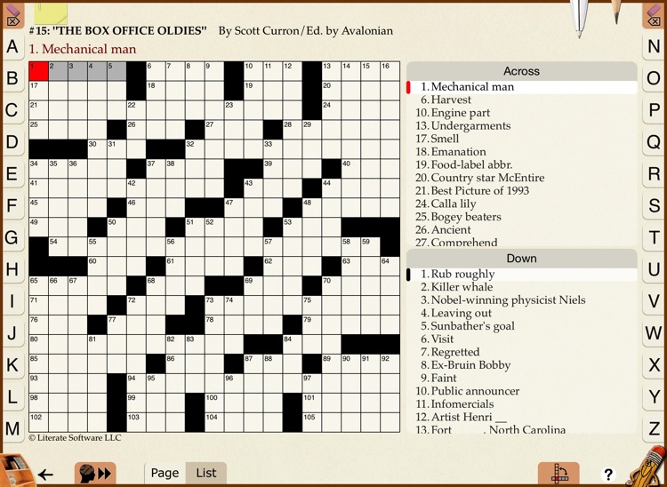 Across Crossword Trainer