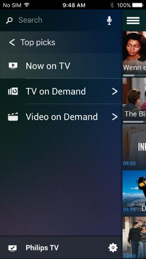 philips tv remote im app store. Black Bedroom Furniture Sets. Home Design Ideas