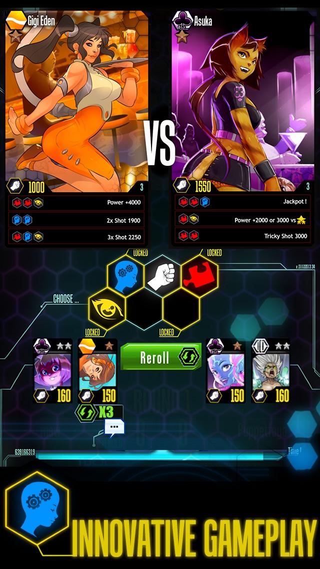G.Girls ! 17+ Fight - Duels - PvP Card Game Screenshot