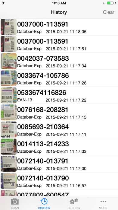 CouponScan Screenshot