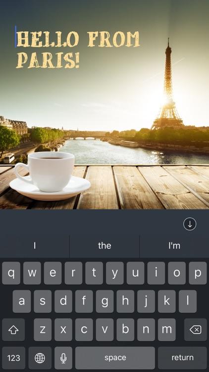 TEXTon - add text to photo!