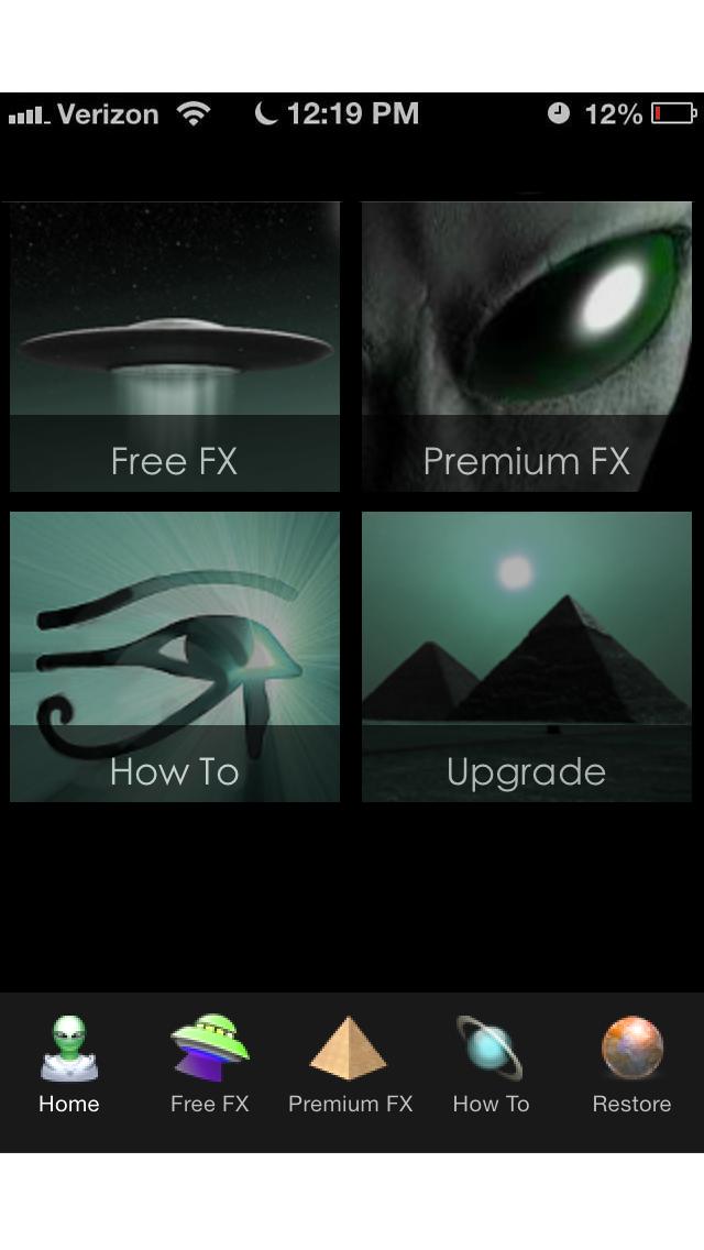 UFO Photo FX screenshot three