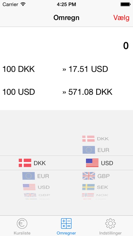 Danish Currency Exchange Rates screenshot-3