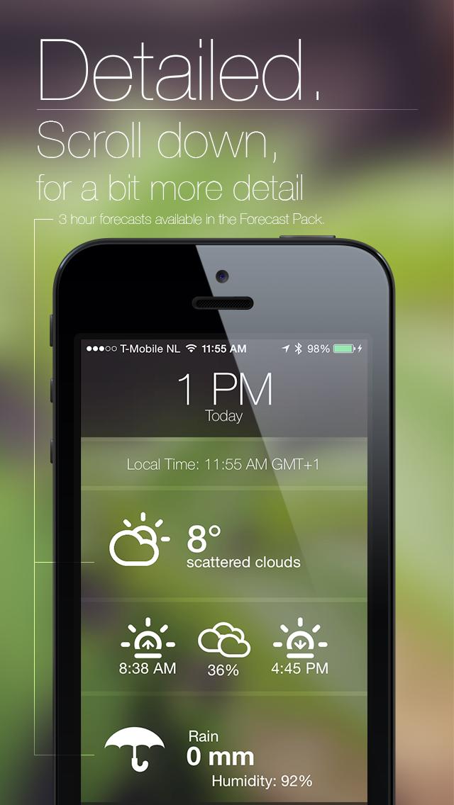 Mizzle: The Weather Appのおすすめ画像2