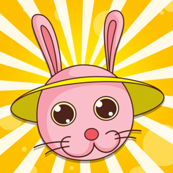 Active Easter! Learning games with bunny, eggs and rabbit
