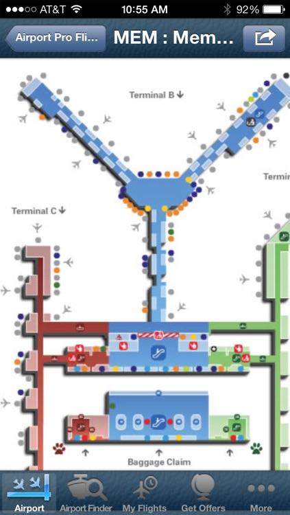 Memphis Airport + Flight Tracker screenshot-4