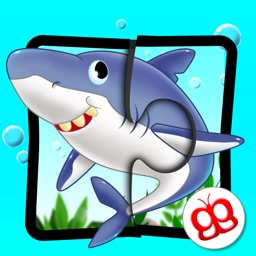 Ocean Jigsaw Puzzle 123 - Word Learning Puzzle Game for Kids