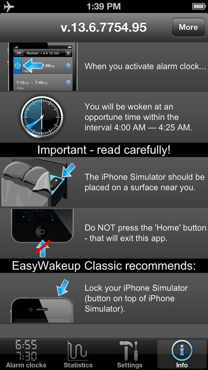 Absalt EasyWakeup Classic - smart alarm clock (easy wake up) screenshot-4