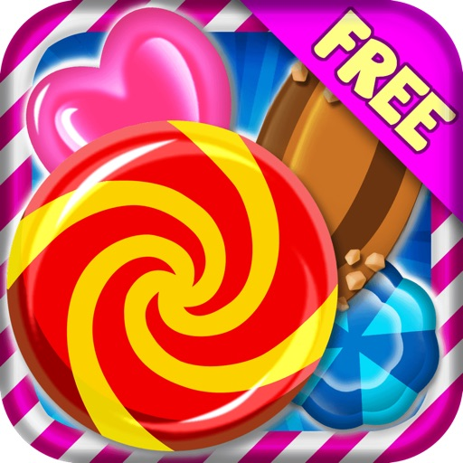 Candy Games Blitz Mania Free - Play Great Match 3 Game For Kids And Adults HD Icon
