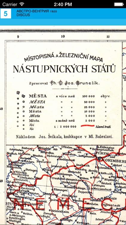 Austria-Hungary (1920). Historical map. screenshot-4