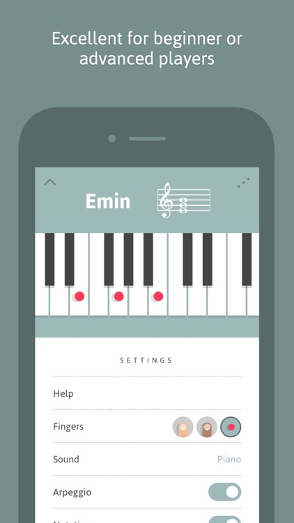Cheeky Fingers - Piano Chord Dictionary, Progressions and Suggestions screenshot-3