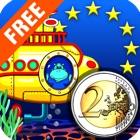 Euro€(Free): Coin Math for kids宝宝学欧元 icon