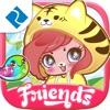 My Chibi Friends - 一款最新的儿童填色游戏,卡通人物,可爱的装饰品