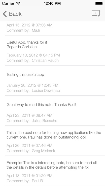 SAP Note Viewer for iPhone screenshot-3