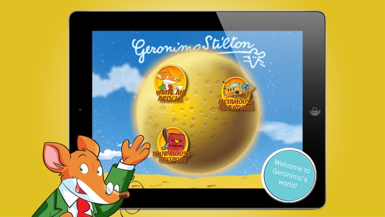 Geronimo Stilton screenshot-0