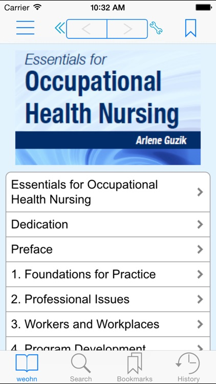 Essentials for Occupational Health Nursing screenshot-0
