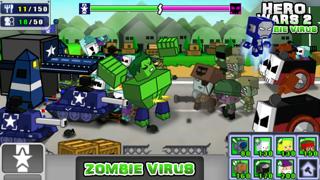 英雄战争2:僵尸病毒