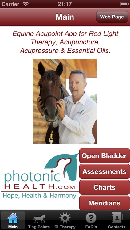 Photonic Horse Acupoint & Red Light therapy