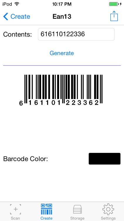 Barcode.r - 1D and 2D barcode reader and generator screenshot-3